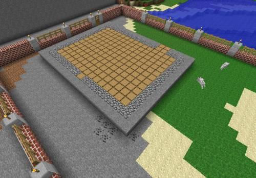 схема постройки кирпичного дома.