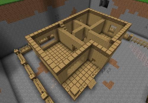схема постройки дома в