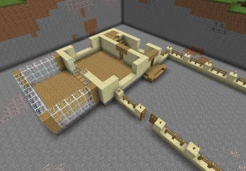 Схема постройки дома из песка