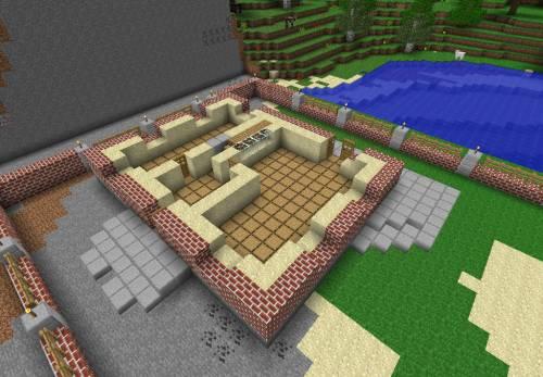 красивые постройки в minecraft