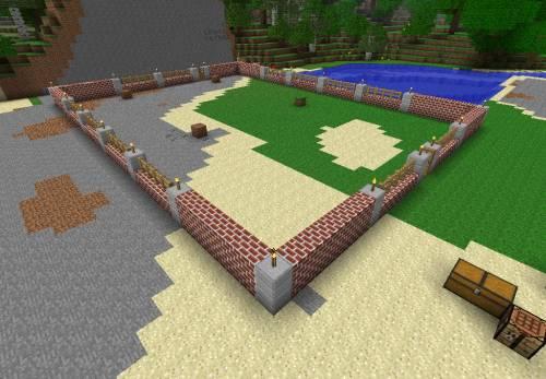 схема постройки кирпичного