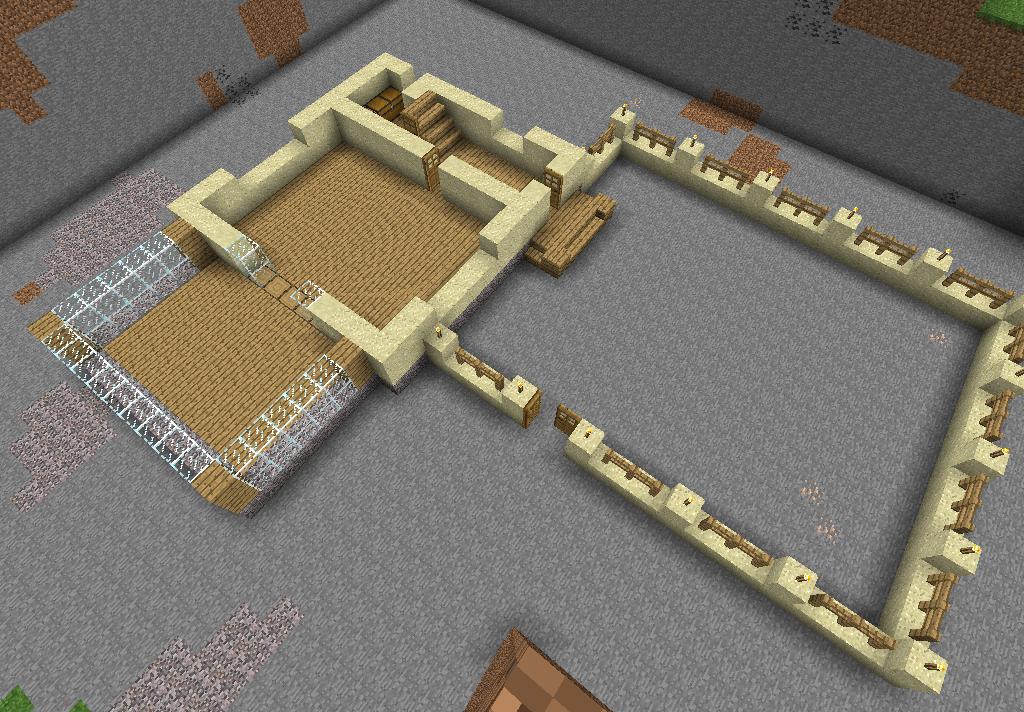 Как построить дом в minecraft pocket edition.